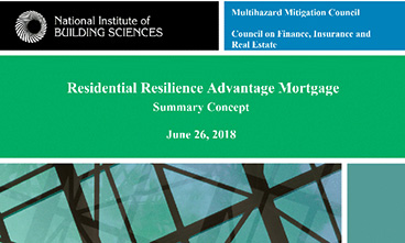 Residential Resilience Advantage Mortgage Concept