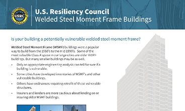 USRC Welded Steel Moment Frames